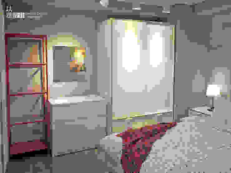 主臥 Scandinavian style bedroom by 以恩設計 Scandinavian