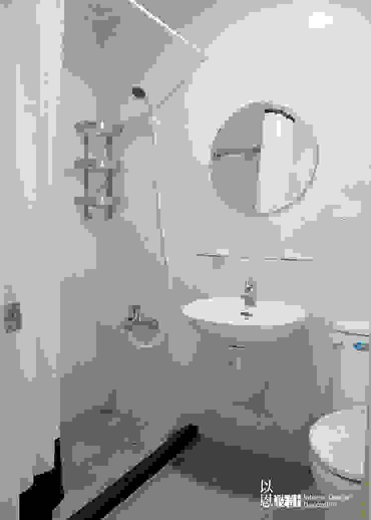 共用衛浴 Scandinavian style bathroom by 以恩設計 Scandinavian