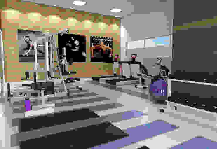 Híbrida Arquitetura, Engenharia e Construção Modern Gym