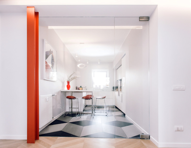 Modern kitchen by studio ixylon Modern