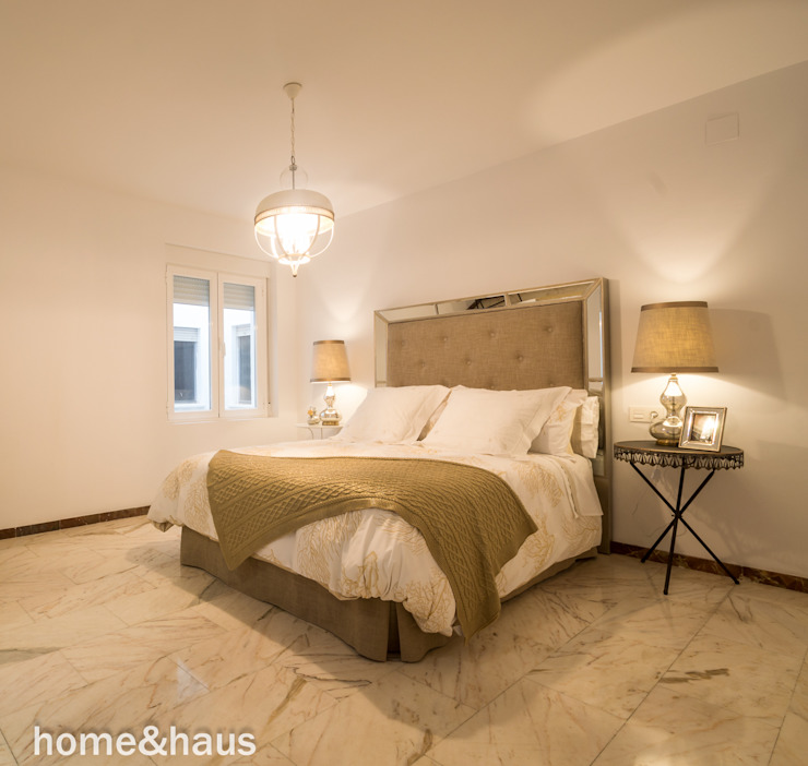غرفة نوم تنفيذ Home & Haus | Home Staging & Fotografía,
