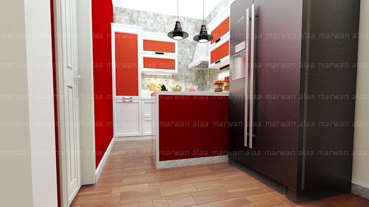 Modern kitchen by EHAF Consulting Engineers Modern