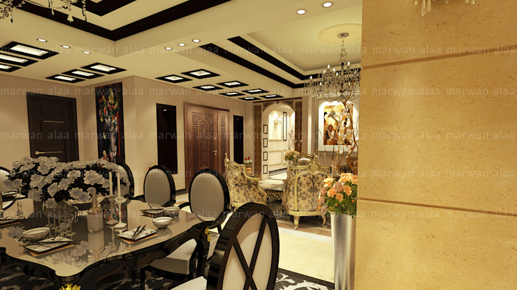 Classic style dining room by EHAF Consulting Engineers Classic