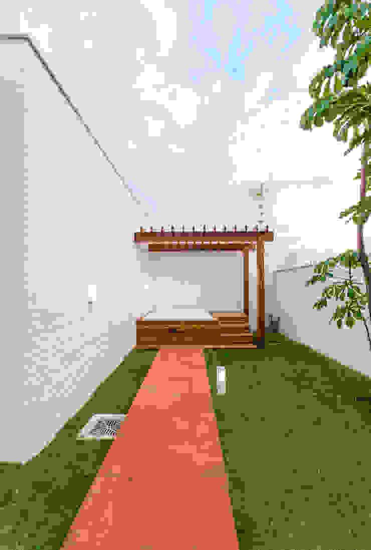 Spa modernos de Diego Alcântara - Studio A108 Arquitetura e Urbanismo Moderno Madera Acabado en madera