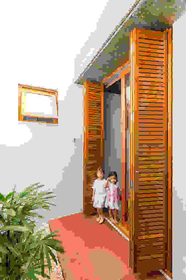 Jardines de estilo moderno de Diego Alcântara - Studio A108 Arquitetura e Urbanismo Moderno