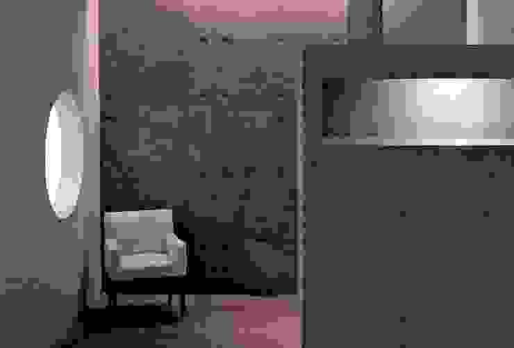 Bar - Café - Hormigón a la Vista Livings de estilo moderno de JPV Arquitecto Moderno