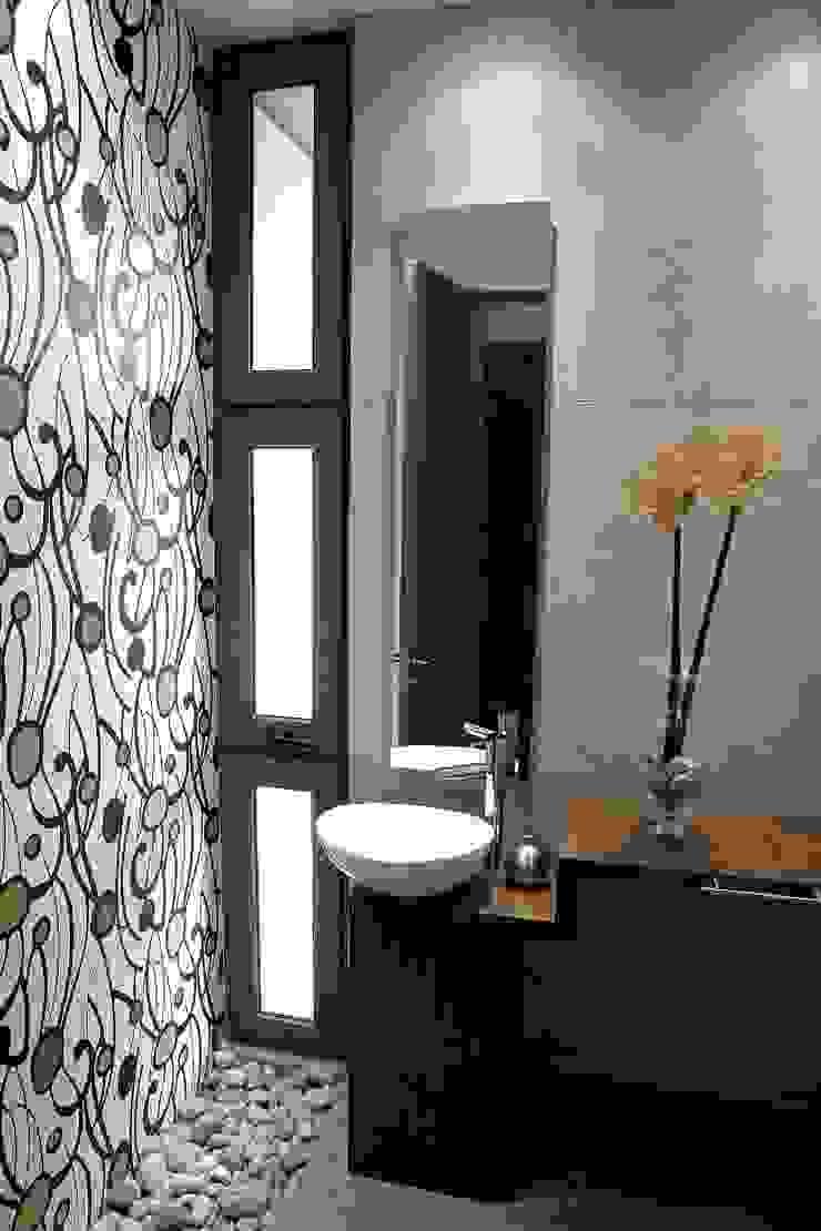 Baño - Hormigón a la Vista - Iluminación Baño Baños de estilo moderno de JPV Arquitecto Moderno