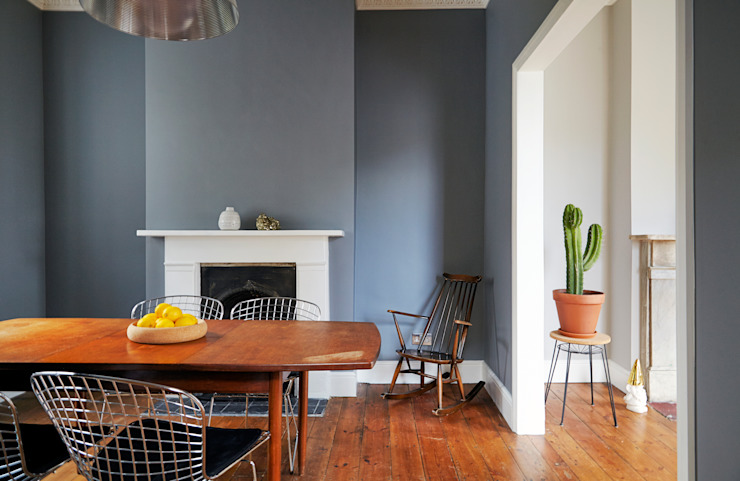 Stoke Newington Scandinavian style dining room by House of Sylphina Scandinavian