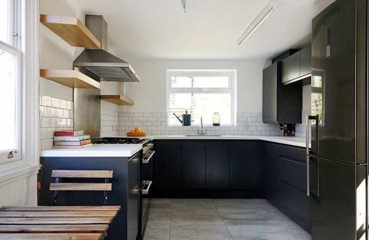 Stoke Newington Scandinavian style kitchen by House of Sylphina Scandinavian
