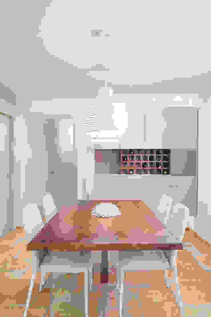 Modern dining room by manuarino architettura design comunicazione Modern Wood Wood effect