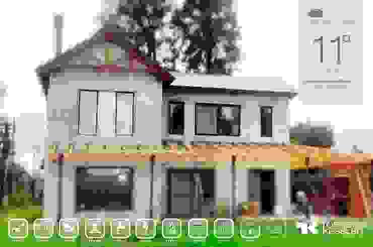Casa estilo campo Casas eclécticas de TORRETTA KESSLER Arquitectos Ecléctico Madera Acabado en madera