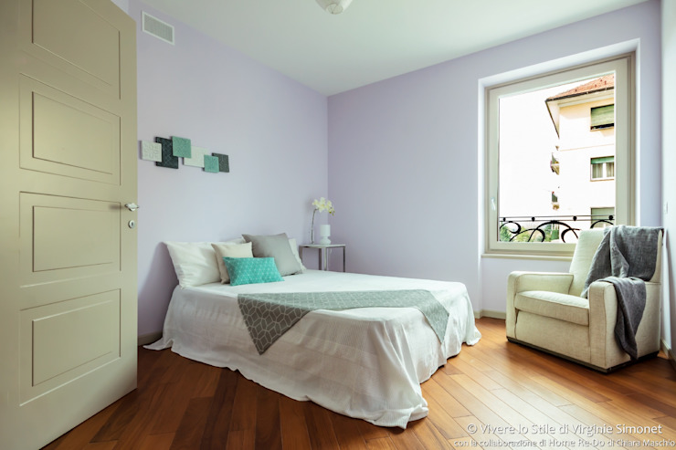 Спальня в стиле модерн от Vivere lo Stile Модерн