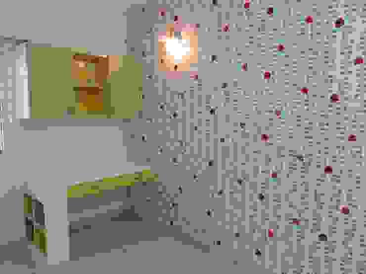 study table & overhead Modern nursery/kids room by Bluebell Interiors Modern