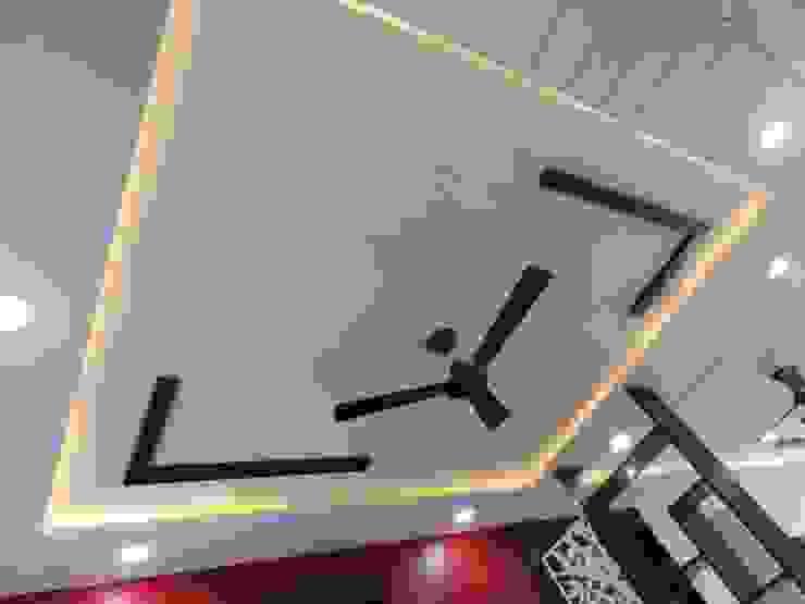 ceiling design Modern living room by Bluebell Interiors Modern