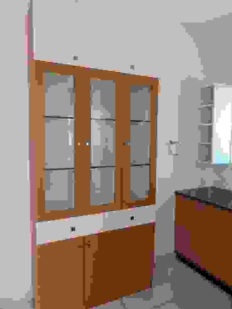 crockery unit Modern kitchen by Bluebell Interiors Modern