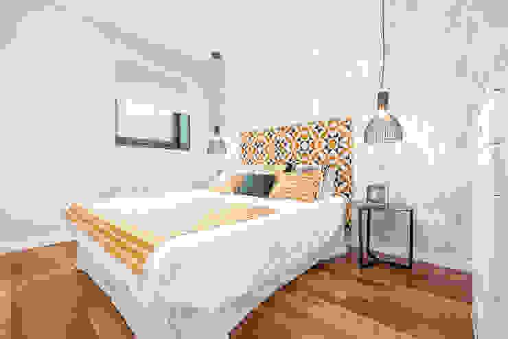 Scandinavian style bedroom by Espacios y Luz Fotografía Scandinavian