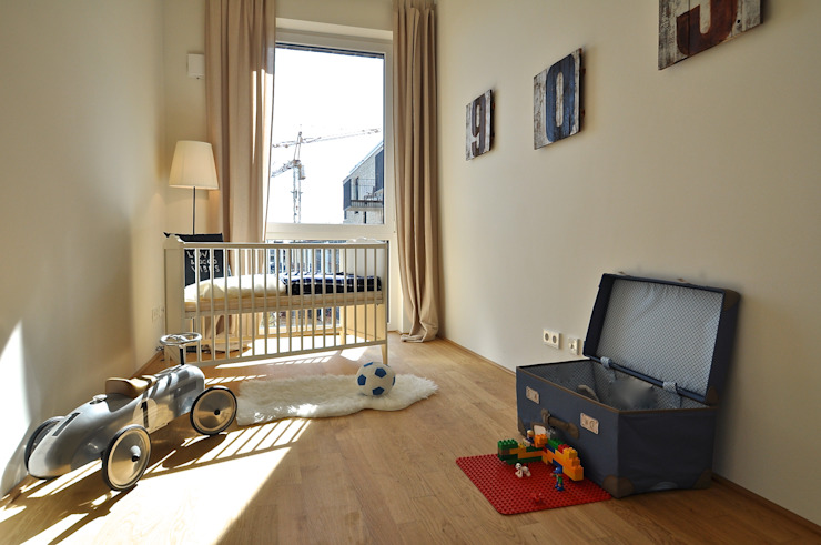 Karin Armbrust - Home Staging Dormitorios infantiles industriales