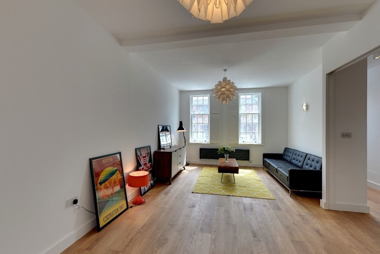House renovation and extension in Fulham, SW6 Modern Living Room by APT Renovation Ltd Modern