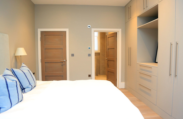 Full house renovation in Marylebone, London W1U Modern Bedroom by APT Renovation Ltd Modern