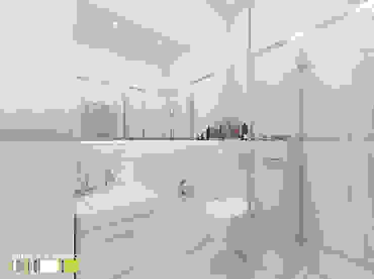 Minimalist style bathroom by Мастерская интерьера Юлии Шевелевой Minimalist