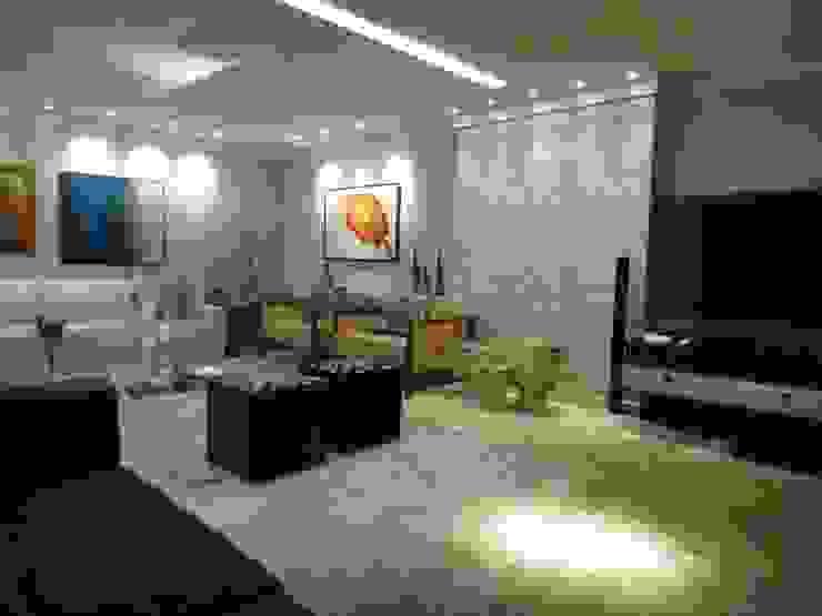 Salas modernas de Daniel Di Rezende Bernardes Arquitetura Moderno