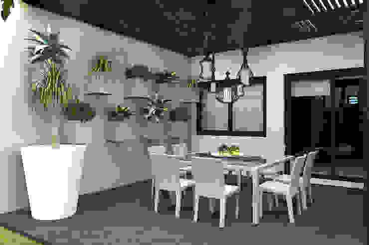 Moderner Balkon, Veranda & Terrasse von homify Modern Metall