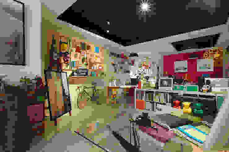 【老男孩的玩具屋】童趣滿點的辦公室空間 根據 一葉藍朵設計家飾所 A Lentil Design 隨意取材風