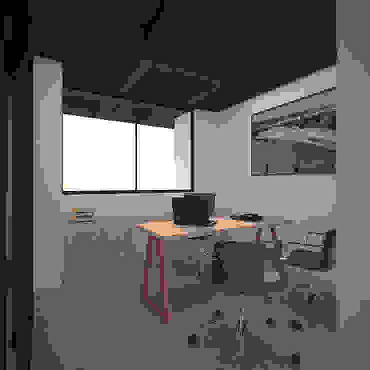 Kantor & toko oleh Fiallo Design Studio, Industrial