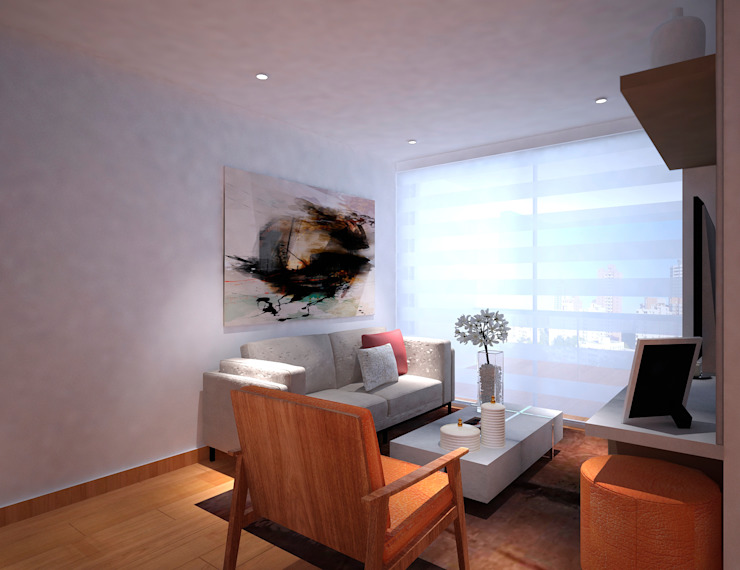 Sala Salas modernas de Fiallo Design Studio Moderno