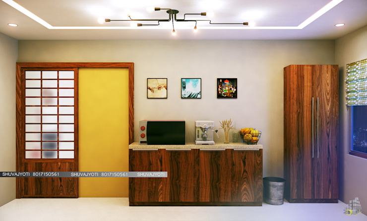 3D VISUALIZATION Modern kitchen by FREELANCE Modern