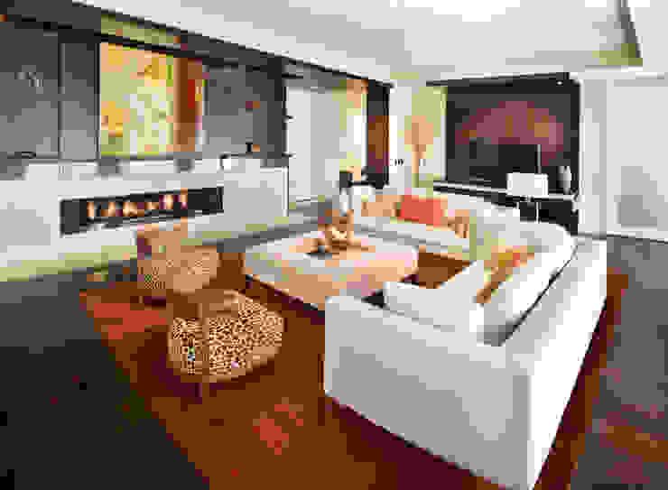 Penthouse Posh - Living Room Modern Living Room by Lorna Gross Interior Design Modern