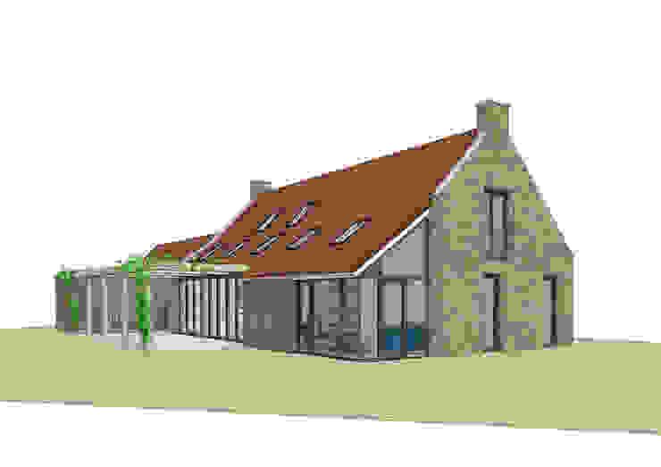 Vrijstaand woonhuis in landelijke omgeving Landelijke huizen van Bram Markerink Bouwkunst Landelijk