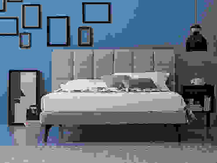 сучасний  by OGGIONI - The Storage Bed Specialist, Сучасний Текстильна Янтарний / Золотий
