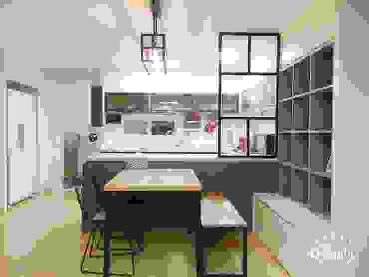 Modern kitchen by homelatte Modern