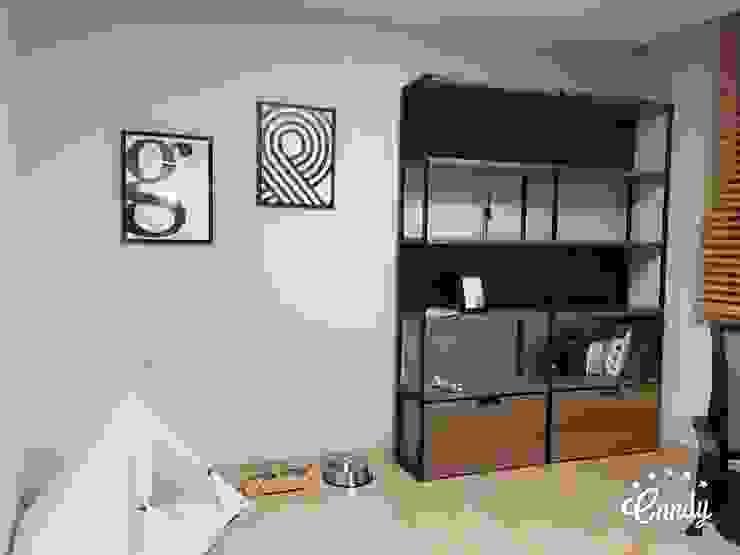 Modern study/office by homelatte Modern