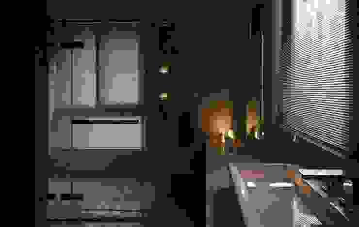 葛里法住宅設計 現代浴室設計點子、靈感&圖片 根據 墐桐空間美學 現代風