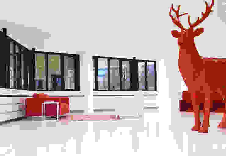 Entree kantoorgebouw Hoofddorp Moderne kantoor- & winkelruimten van By Lenny Modern