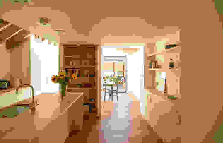 OLDFIELD ROAD Modern kitchen by Bradley Van Der Straeten Architects Modern Wood Wood effect