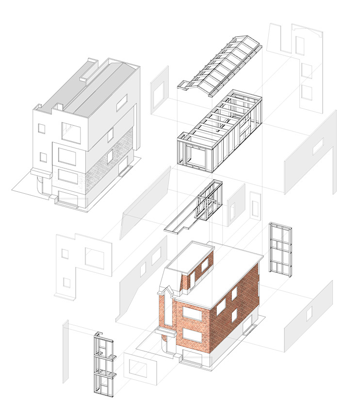 Renovation House RS: supa schweitzer song의 현대 ,모던