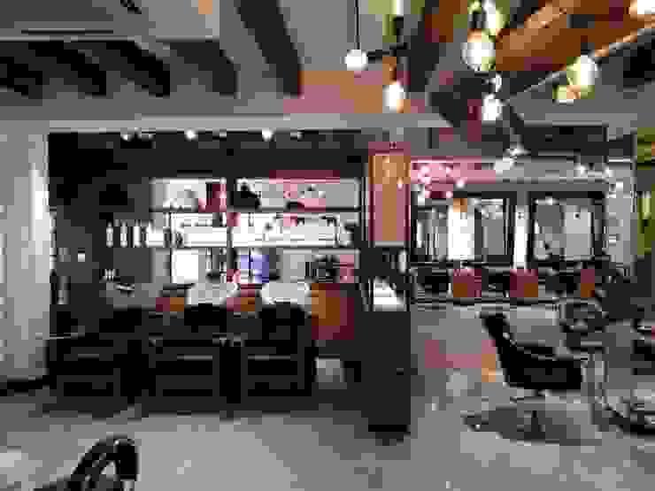 Affinity Salon Mumbai by Praxis Design & Building Solutions Pvt Ltd Modern Wood Wood effect