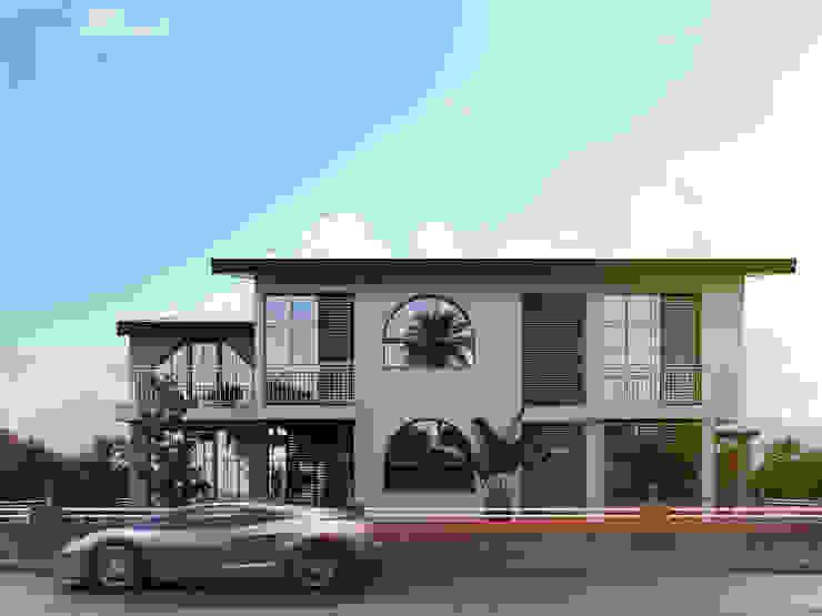 ACS Mimarlık, İzmir Narlıdere Villa Projesi Modern Evler ACS Mimarlık Modern