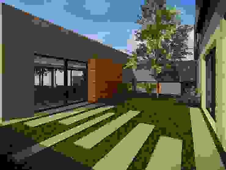 Modern Garden by Estudio Pauloni Arquitectura Modern