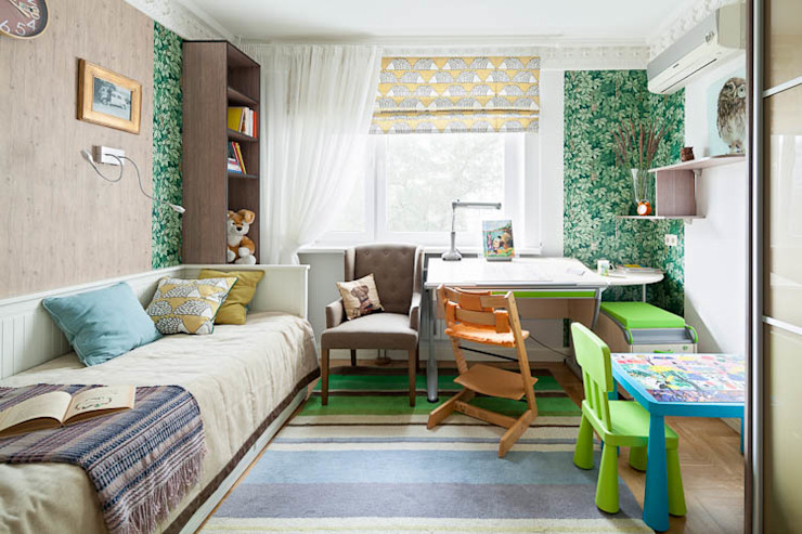 Nursery/kid's room by Pegasova design