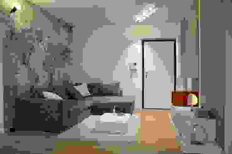 Moderne woonkamers van Annalisa Carli Modern Hout Hout