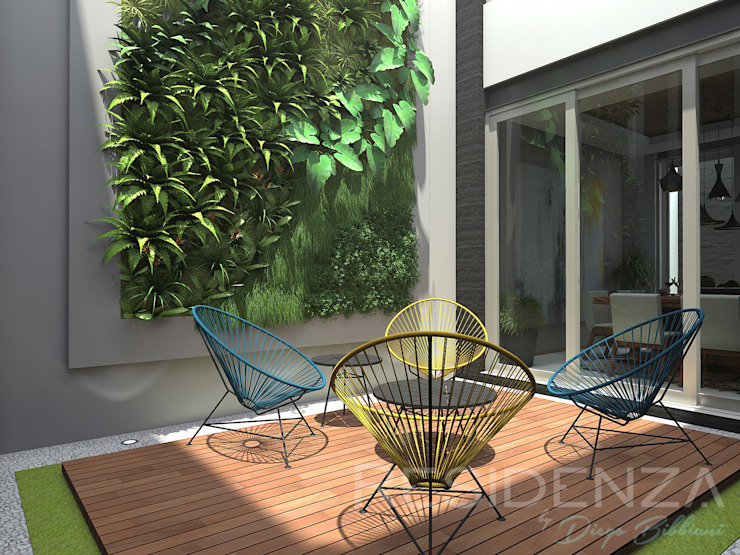 homify Modern style gardens Wood Wood effect