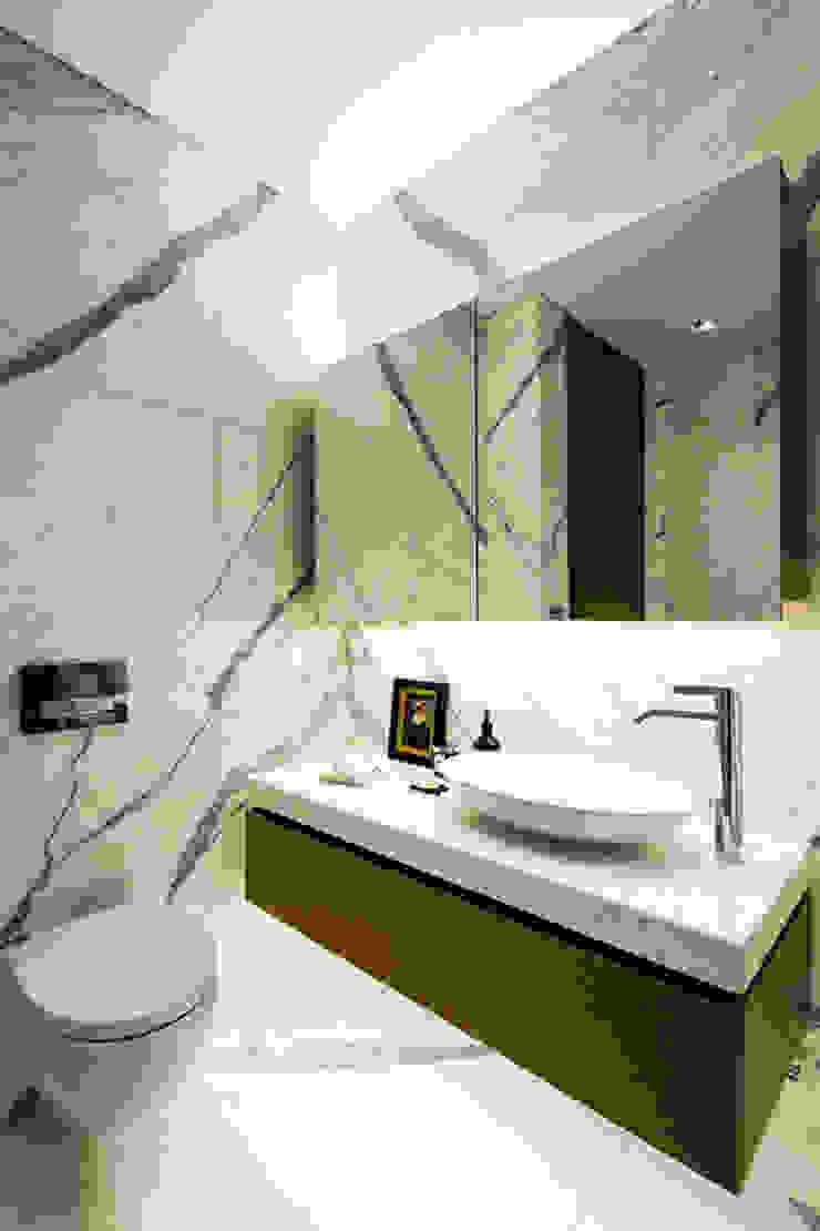 MERVE KAHRAMAN PRODUCTS & INTERIORS حمام رخام White