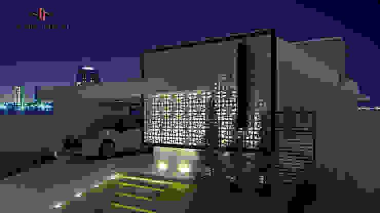 Casas de estilo  por PACKER arquitetura e engenharia,