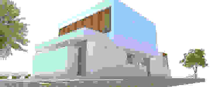 CASA CR Casas modernas de Arquitecta Obadilla Moderno