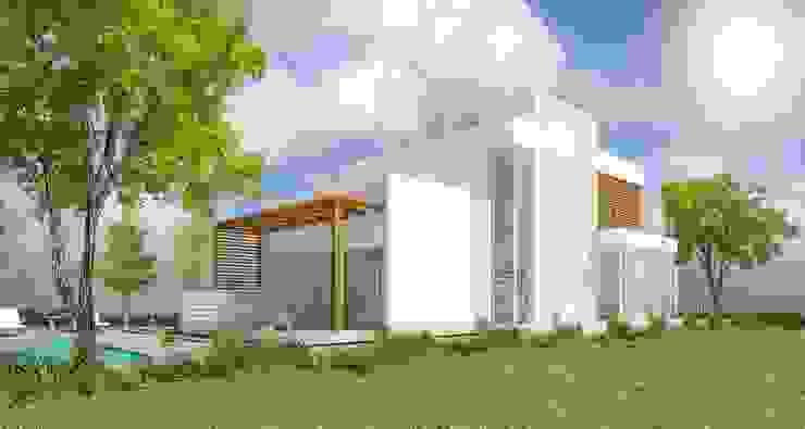 Casas modernas de Arquitecta Obadilla Moderno