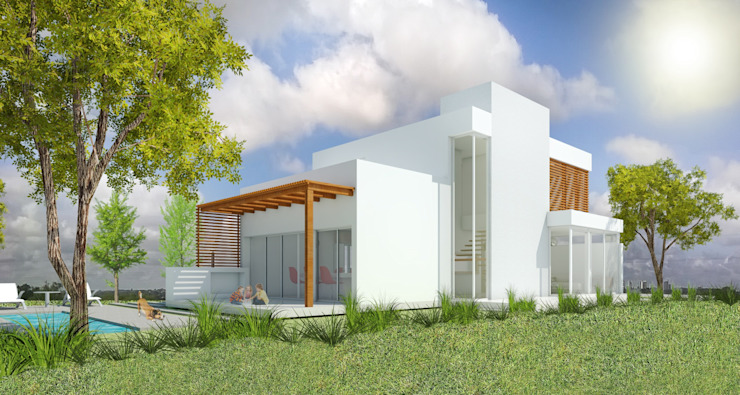 Modern houses by Arquitecta Obadilla Modern